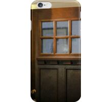 ILLUMINATED FRONT  DOOR WITH STONE WORK iPhone Case/Skin