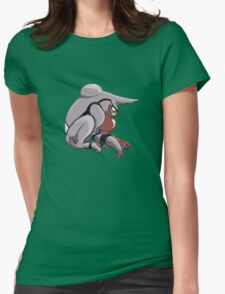 Toxicroak at the Ready Womens Fitted T-Shirt