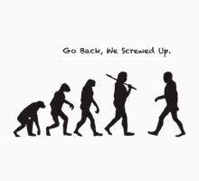 Go Back, We Screwed Up by Casey VanDehy