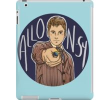 Tenth Doctor - Allons-y! iPad Case/Skin