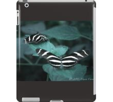 Zebra Longwing Butterflies iPad Case/Skin