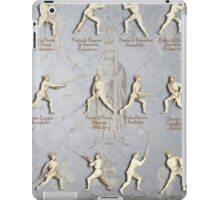 "Fiore dei Liberi Longsword Positions ""Getty"" iPad Case/Skin"