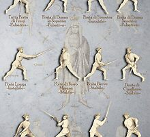 "Fiore dei Liberi Longsword Positions ""Getty"" by Tracy Mellow"