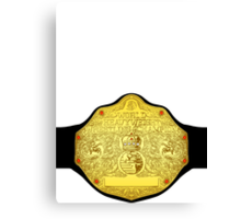 World Heavyweight Champion Canvas Print