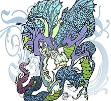 dragon design by mslisko