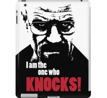 Breaking Bad - Heisenberg - I am the one who knocks! T-shirt iPad Case/Skin