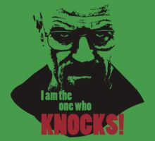 Breaking Bad - Heisenberg - I am the one who knocks! T-shirt Kids Clothes
