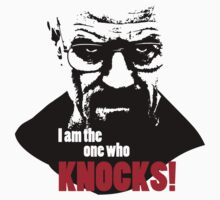 Breaking Bad - Heisenberg - I am the one who knocks! T-shirt by gstoyanov