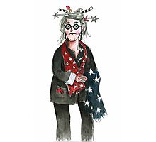 Shelley the Star Lady Photographic Print