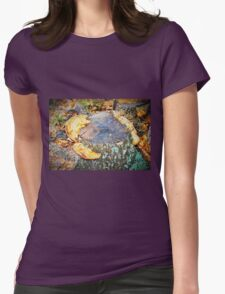 Shelf fungus Womens Fitted T-Shirt