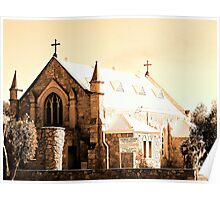 Kellerberrin Catholic Church Poster
