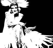 Marlene Dietrich Looks Like A Peacock by Museenglish