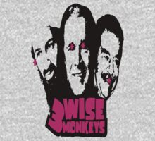 3 WISE MONKEYS by bundi