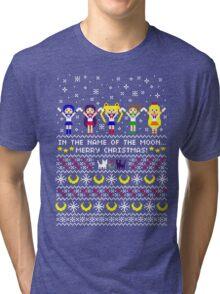 Moon Warrior Sweater Tri-blend T-Shirt