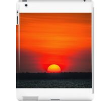 Red Sky Sunset iPad Case/Skin