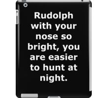 Rudolph the Red Nose Reindeer iPad Case/Skin