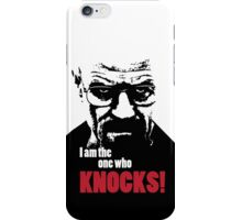 Breaking Bad - Heisenberg - I am the one who knocks! T-shirt iPhone Case/Skin
