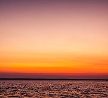 Darwin Sunset by Russell Charters