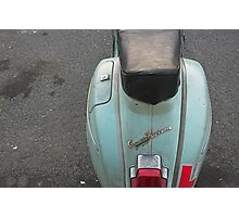 Vespa Photographic Print