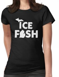 Ice Fish Womens Fitted T-Shirt