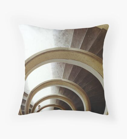 winding down Throw Pillow