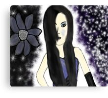 Gothic Princess Of Time Canvas Print