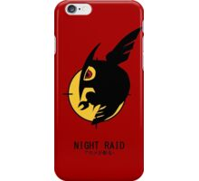 Night Raid + Caption iPhone Case/Skin