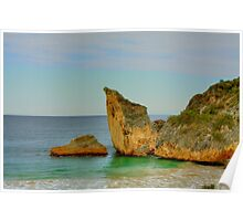 Cathedral Rock, Windy Harbour, Western Australia Poster
