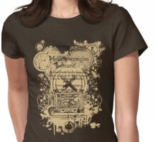 Shakespeare's A Midsummer Night's Dream Front Piece Womens Fitted T-Shirt