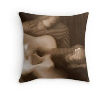 everybody bogey bogey on to the street  Throw Pillow