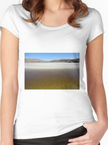 Seilebost, Isle of Harris Women's Fitted Scoop T-Shirt