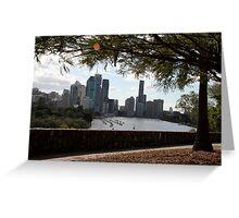 Brisbane River. Greeting Card
