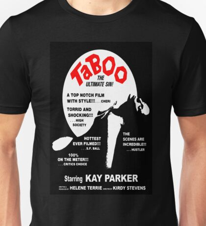 Taboo Movie Poster Unisex T-Shirt