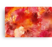 Abstract Watercolor III Canvas Print
