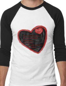 I love You Because... Men's Baseball ¾ T-Shirt