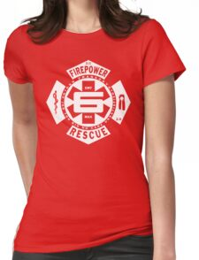 Big Fire #6 Womens Fitted T-Shirt