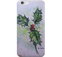 Ilex aquifolium or Holly iPhone Case/Skin