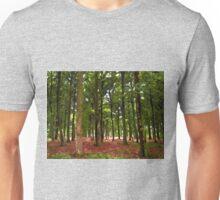 Beautiful Forest landscape Unisex T-Shirt