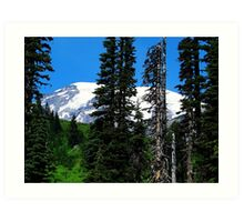 Mount Rainier 532 Art Print