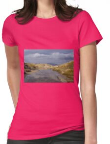 Luskentyre, Isle of Harris Womens Fitted T-Shirt