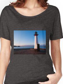 Lighthouse in Assens Denmark Women's Relaxed Fit T-Shirt