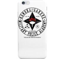 Hidden Military Police Academy iPhone Case/Skin