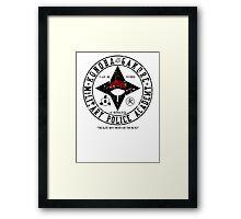 Hidden Military Police Academy Framed Print