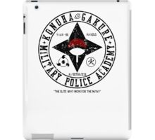 Hidden Military Police Academy iPad Case/Skin