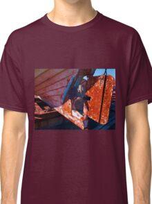 Old rust boat restoration Classic T-Shirt