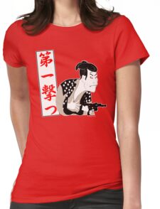 Shoot First Womens Fitted T-Shirt