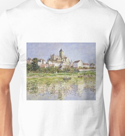 Claude Monet - The Church At Vetheuil 1880 Unisex T-Shirt