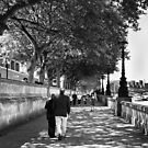 By the Thames - London, England by Norman Repacholi