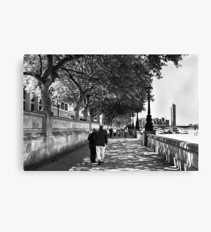 By the Thames - London, England Canvas Print