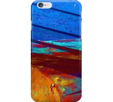 Rusty grunge aged steel iron paint background iPhone Case/Skin